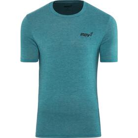 inov-8 Tri Blend Forged Koszulka z krótkim rękawem Mężczyźni, blue/green